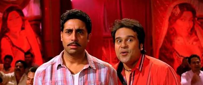 Abhishek Bachchan and Krushna Abhishek