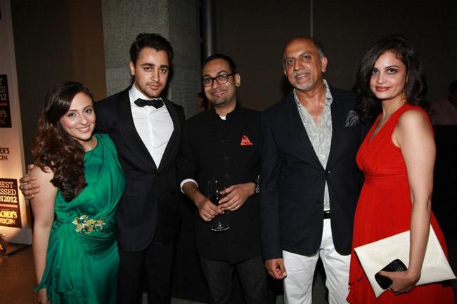 Avantika Khan, Imran Khan, Che Kurrien, Alex Kuruvilla (MD of Conde Nast India) and Rhea Saran