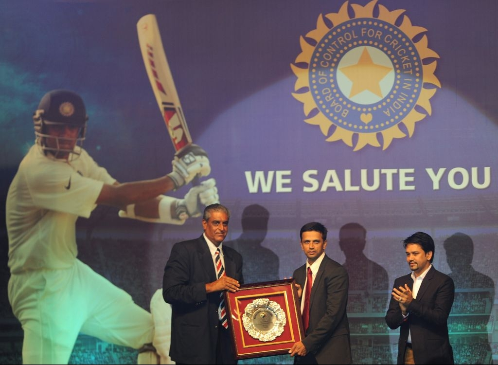 Rahul Dravid felicitated