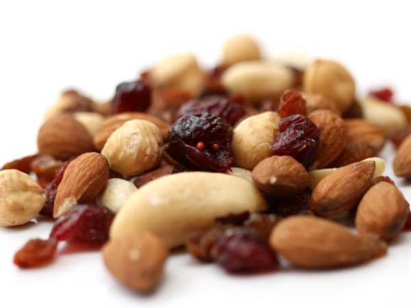 Nuts- Some of us likes them some don't but all nuts have some amount of iron in them. But the king of the nut who provides maximum iron is almonds. One ounce of almonds everyday provides 6% of iron. Dry fruits can be purchased from any major store in bi