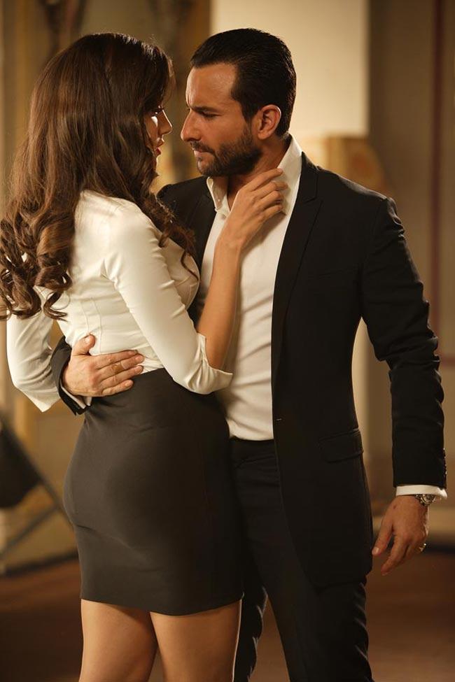 Saif Ali Khan and Mallika Haydon