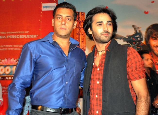 Salman Khan at Bittoo Boss music launch