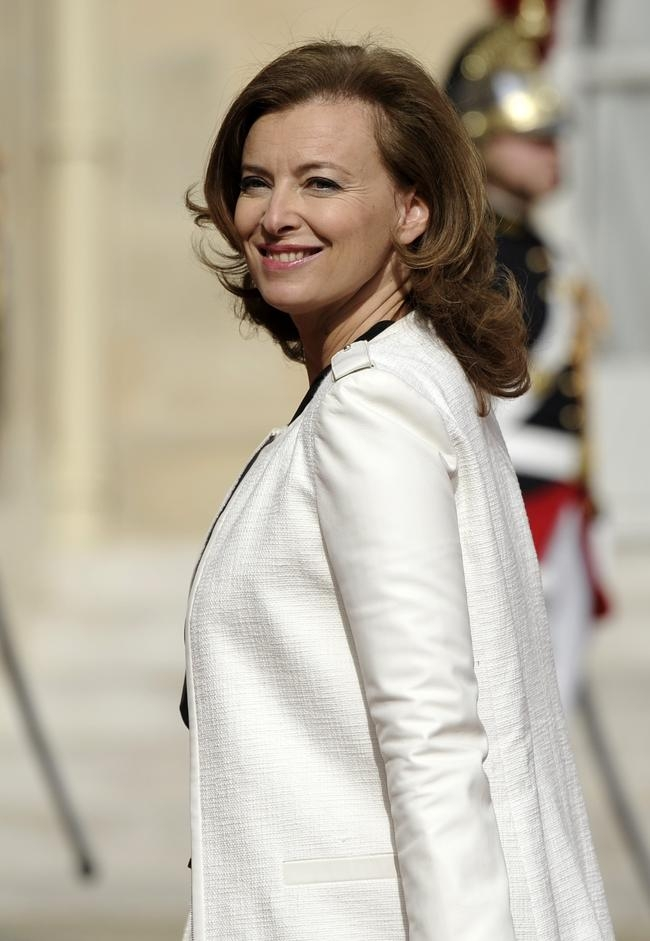 Valerie Trierweiler, companion of France