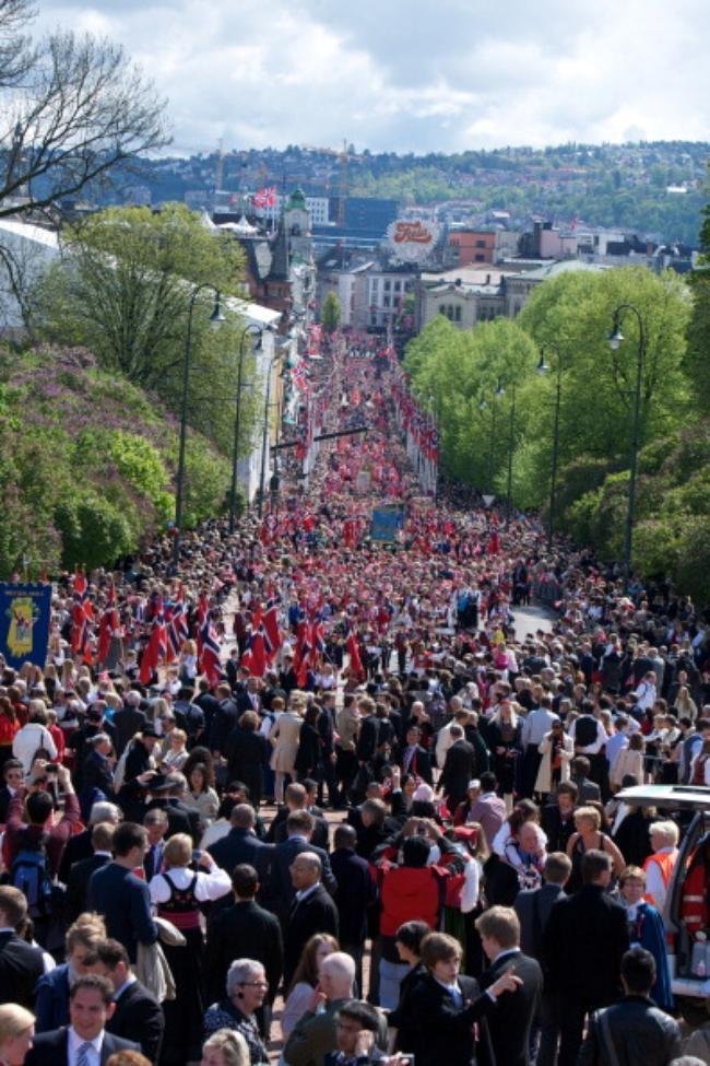 Norwegian Royals Celebrate Norway