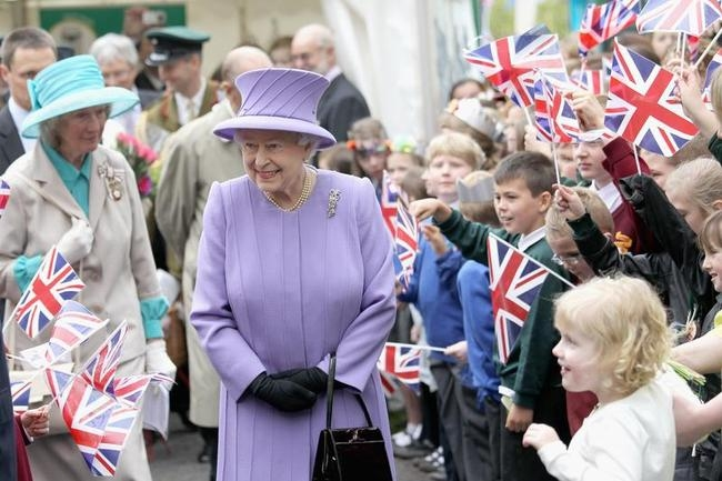 Queen Elizabeth II Visits The South West