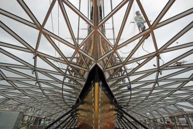 The Cutty Sark Re Opens To The Public After A £50 Million Renovation