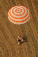 Soyuz TMA-22 capsule with Expedition 30