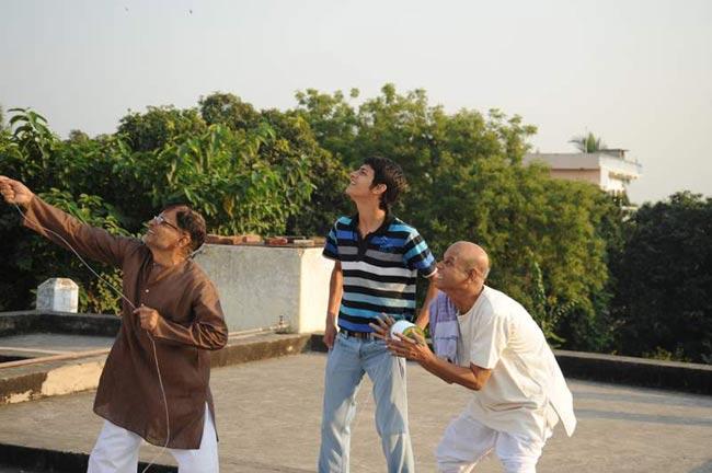 Raghuvir Yadav and Raj Tandon