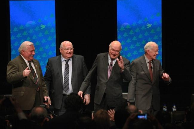 World Summit Of Nobel Peace Laureates Held In Chicago