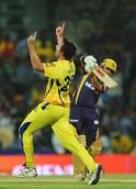 Chennai Super Kings bowler Ben Hilfenhau