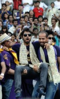 It's KKR day in Kolkata