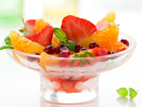 Fruits as desserts
