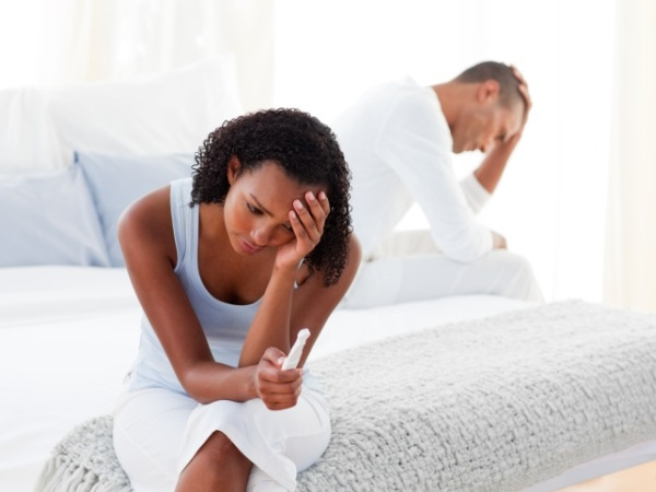 Women are the ones with fertility issues, while men rarely have any problems.