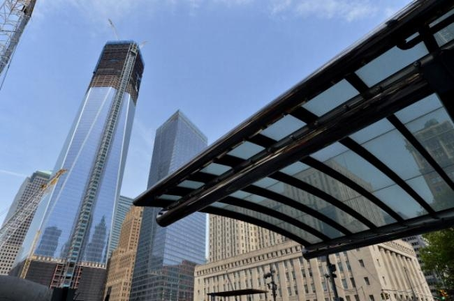 One World Trade Center becomes the tallest building in New York.