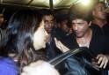 Shah Rukh Khan and Juhi Chawla