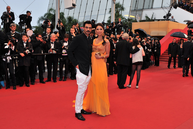 Arjun Rampal and wife Mehr