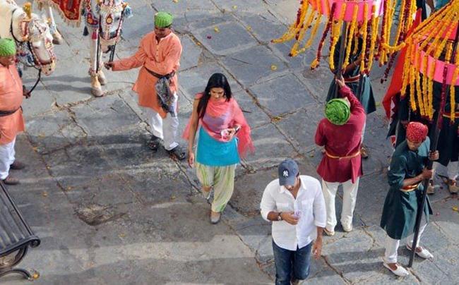 Ranbir-Deepika on the sets of Yeh Jawani Hai Deewani