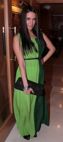 Neha Dhupia attends the Lonely Planet Magazine Travel Awards 2012 ceremony in Mumbai