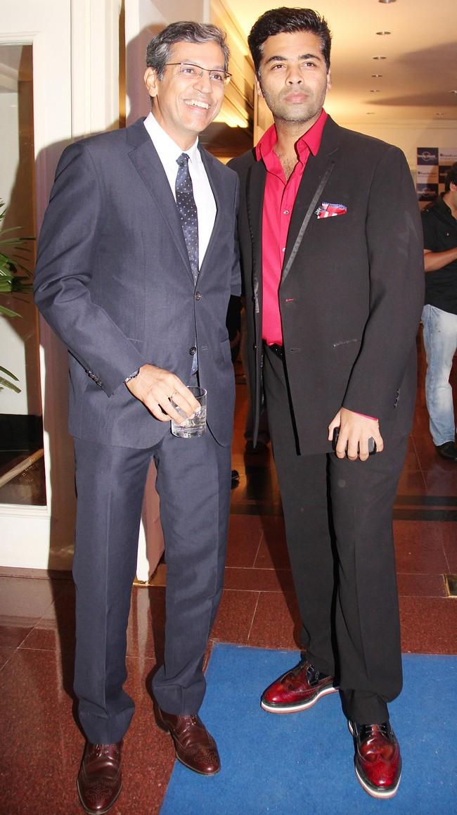 Mr. Tarun Rai & Karan Johar at