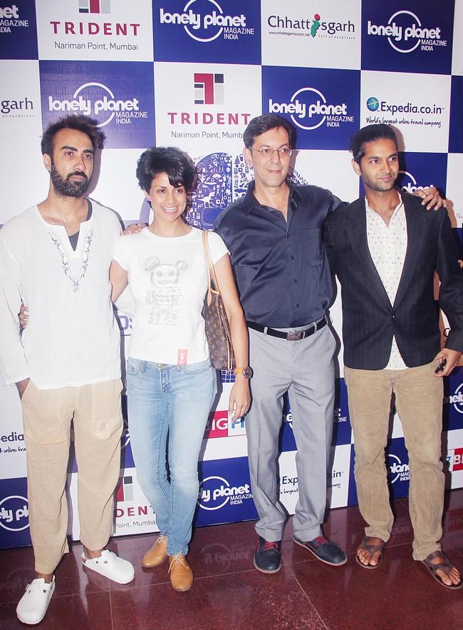 Ranvir Shorey, Gul Panaag, Rajat Kapoor & Purab Kohli at