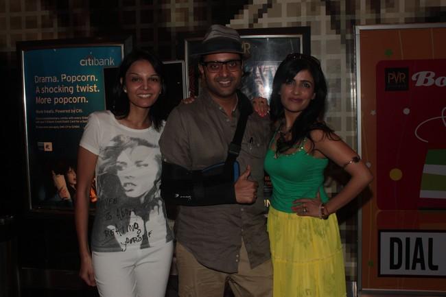 Seema Rahamani, Ash Chandler & Shibani Kashyap