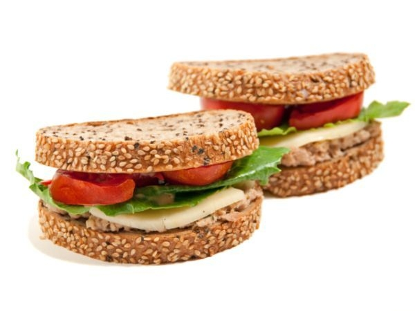 Pan-grilled Fish Fillet Sandwiches