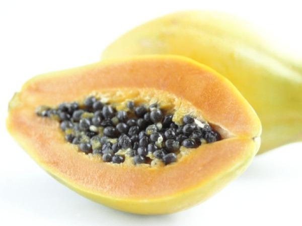 Ripe papaya – approximately 310 grams