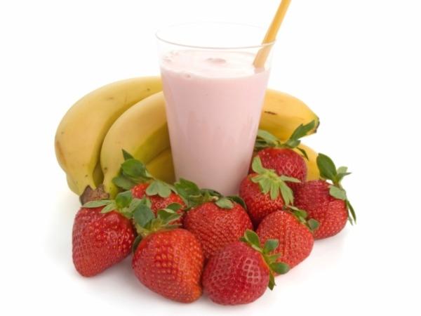 Strawberry and Banana Smoothie