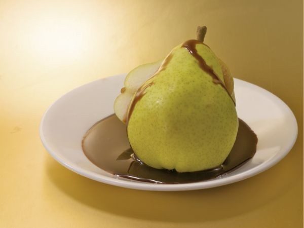 Figs or Pears in Honey and Cinnamon