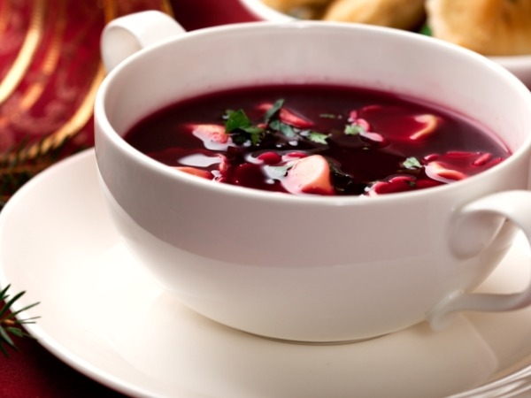 Spinach and Beet soup