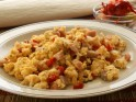 Scrambled Eggs with Beet