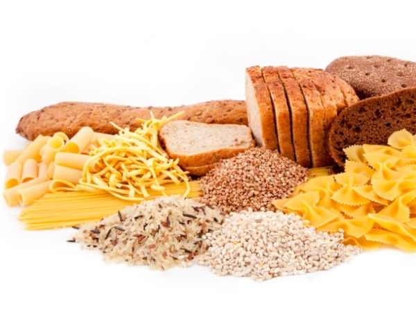 Include carbohydrates in your diet