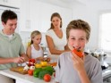 Never let your kids go away from the nutritious food
