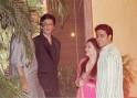SRK, Aishwarya and Abhishek Bachchan