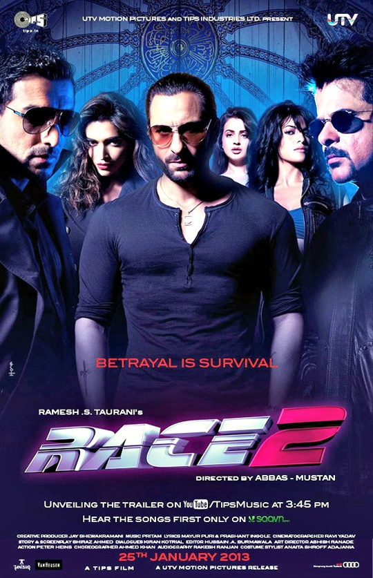 Race 2 poster