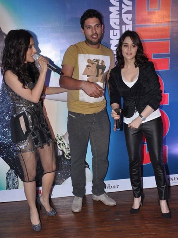 Yuvraj Singh, Preity Zinta