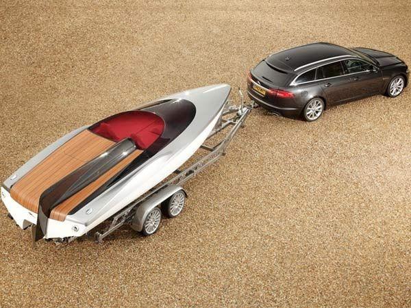 Jaguar Concept Speed Boat