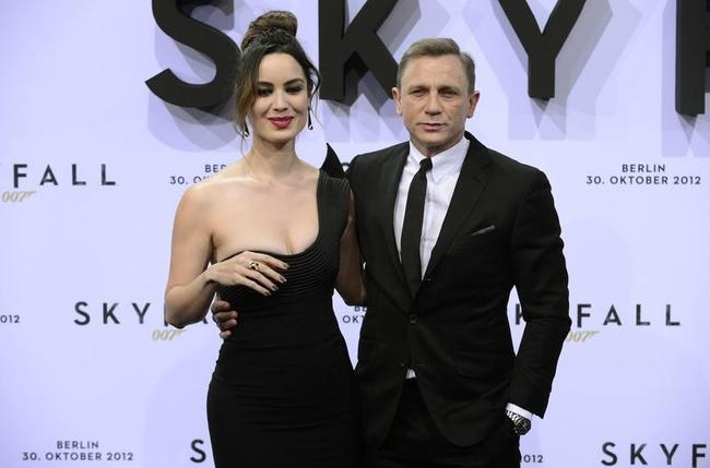 GERMANY-CINEMA-SKYFALL-CRAIG