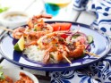 Spicy Lime Barbecued Prawns