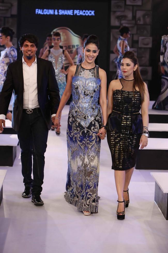 Genelia Deshmukh in Falguni & Shane Peacock
