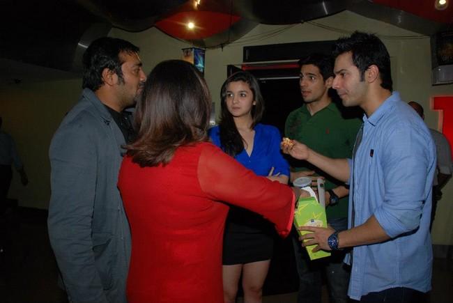 Anurag,Farah,Alia,Varun,Sidharth