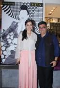 Simone Singh with Farhad Samar