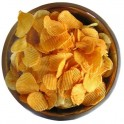 Whole grain chips
