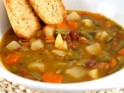 Hot and hearty Vegetable Soup