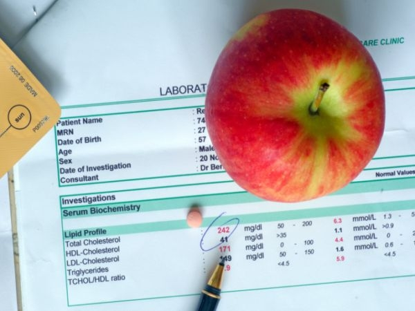 Cholesterol is bad for health: