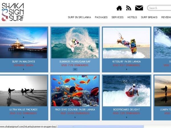 Shaka Sign Surf: