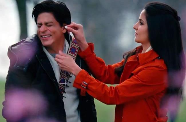 Katrina Kaif and Shah Rukh Khan