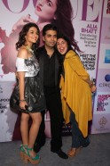 Alia Bhatt, Karan Johar and Anaita shroff Adajania