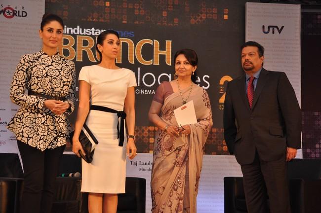 Kareena Kapoor, Karisma Kapoor, Sharmila Tagore & Vir Sanghvi