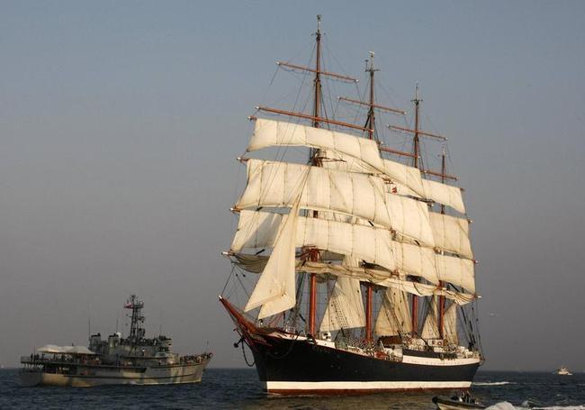 Russian Windjammer, the Sedov